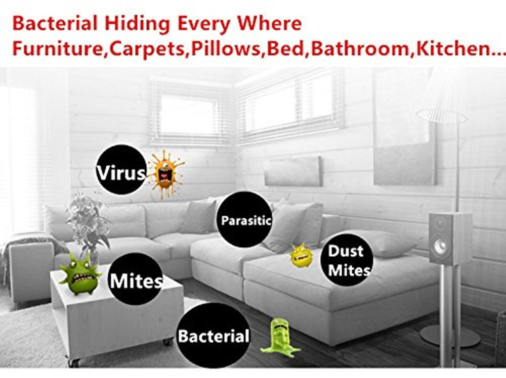 Casa Virus UV germicida germe Stampo con adattatore ospedale Sterilization Anti-batteri integrato tasso 99/% dei batteri