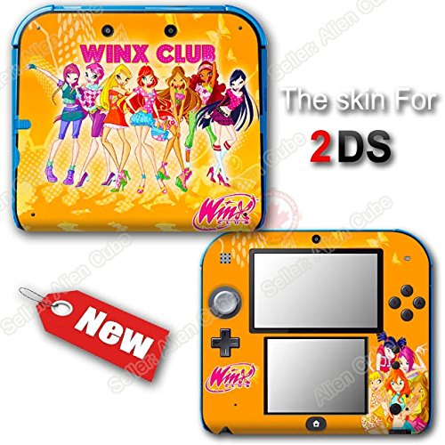 (Winx Club Cute Fairy NEW SKIN VINYL STICKER DECAL COVER #1 for Nintendo 2DS)