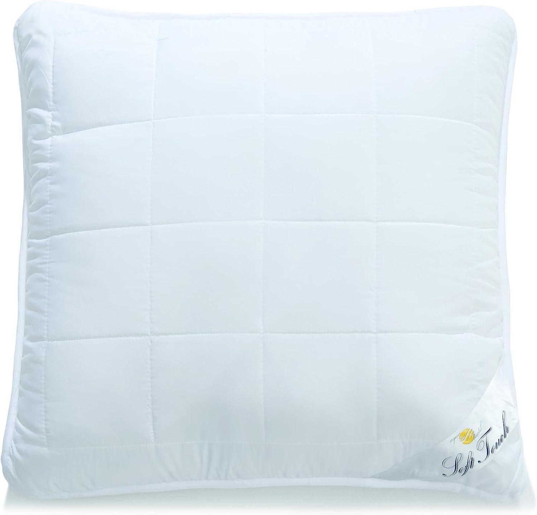 aqua-textil Soft Touch Oreiller Fermeture /Éclair Microfibre 40 x 60 cm