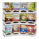 Two Leaves and a Bud Retail Box Starter Kit, 2 Boxes Each of 12 Teas, 24 Count