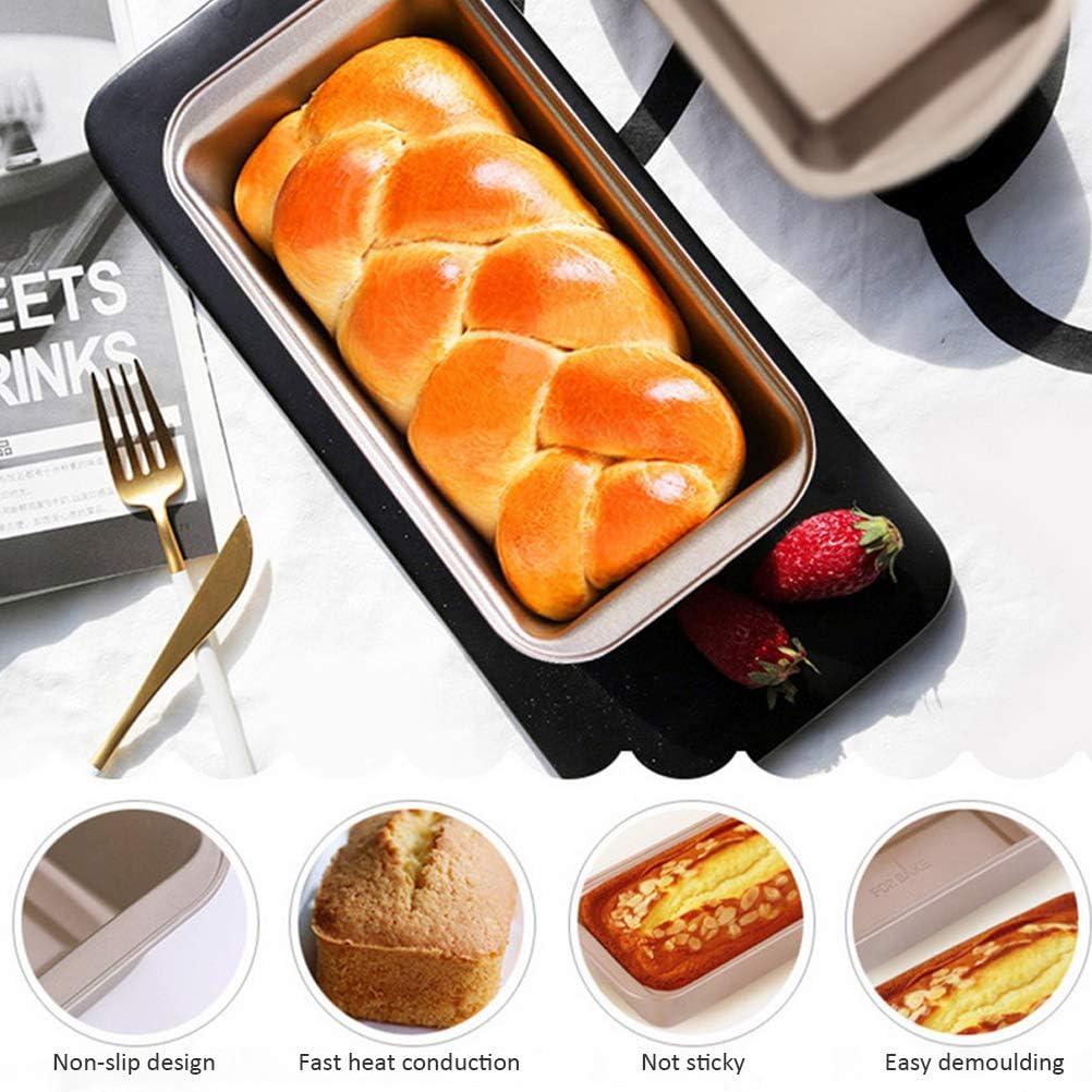 Keemov Toast Bread Mold Carbon Steel Baking Tray Bread Loaf Baking Tin Large Bread Baking Trays Non Stick