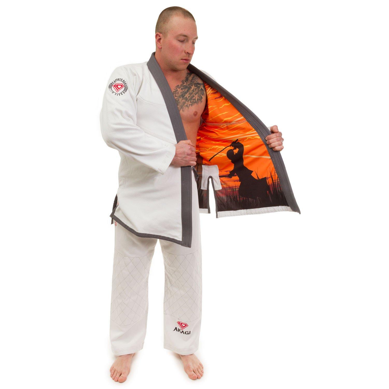 Koスポーツギア's Akagi Hemp Blend GI – BJJ着物とパンツ – For Jiu Jitsu  A4