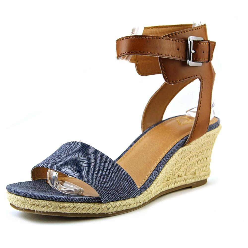 Madeline Women's Skate Wedge Sandal B00TXIE0CE 9 B(M) US|New Blue