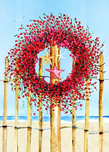 Performing Arts Full Color Inside Coastal Wreath Stationery Paper, 52456-18