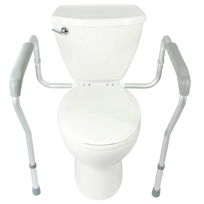 Toilet Rail Bathroom Safety Frame For Elderly, Handicap