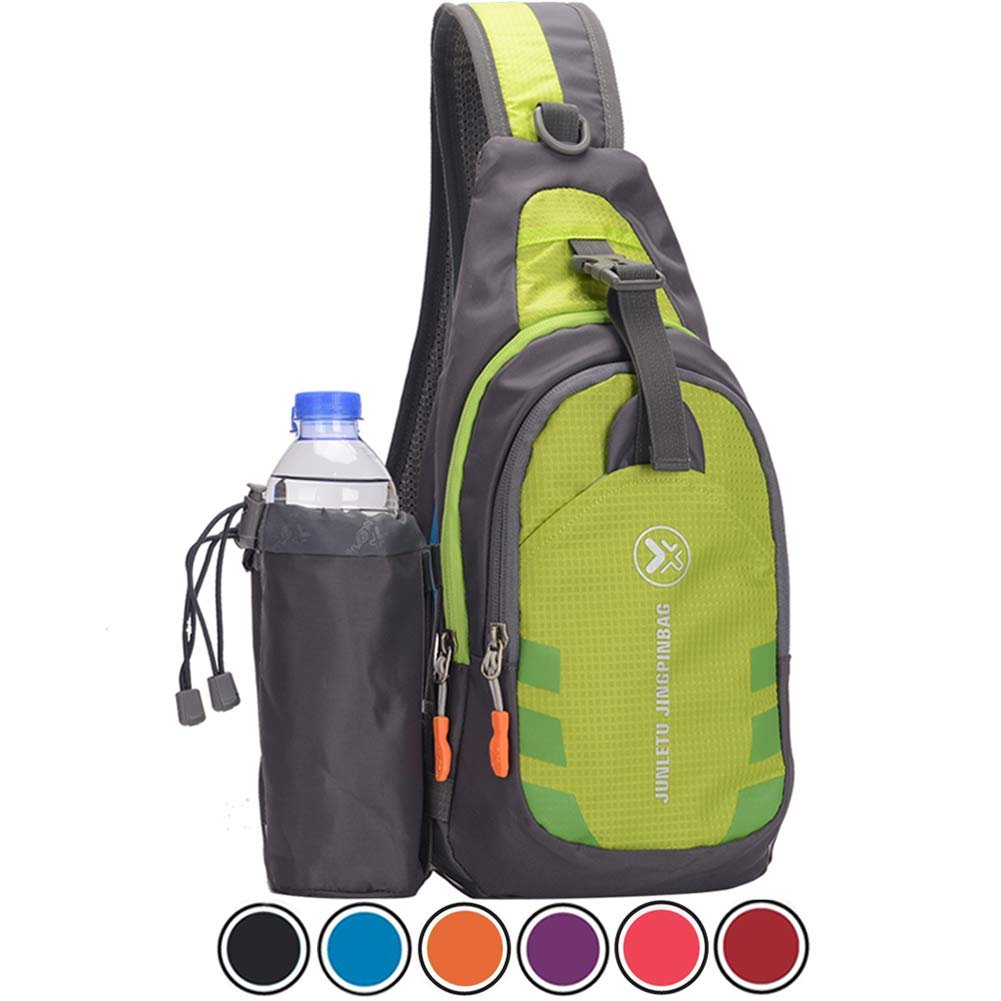 Holyami Sling Bag Crossbody Chest Shoulder Backpack Bags,Water resistant Outdoors Travel Gym Casual Daypack for Women&Men