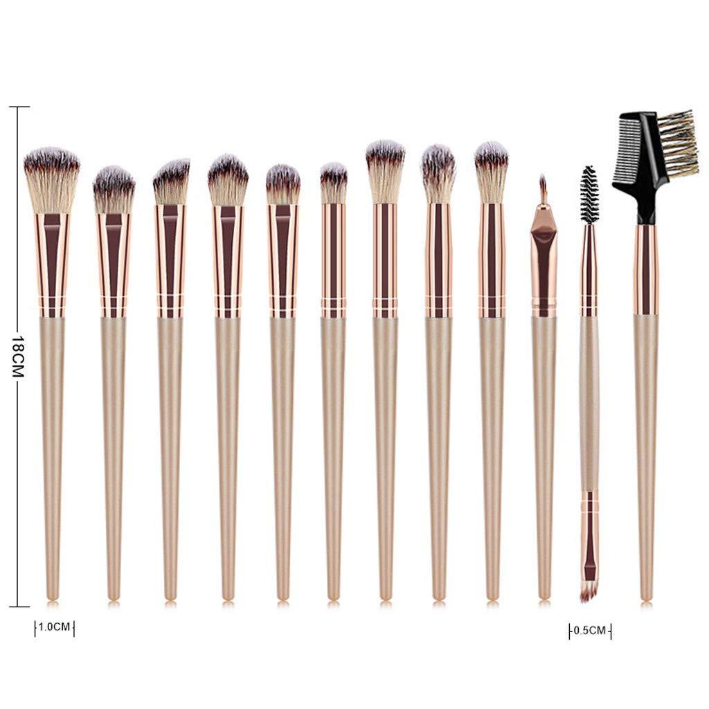 Cocoty-store 2019 Set de brochas de maquillaje profesional ...