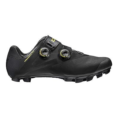 Fashion Style Men Mavic Crossmax Pro Carbon Sole Mountain Biking Shoes Red black rubber