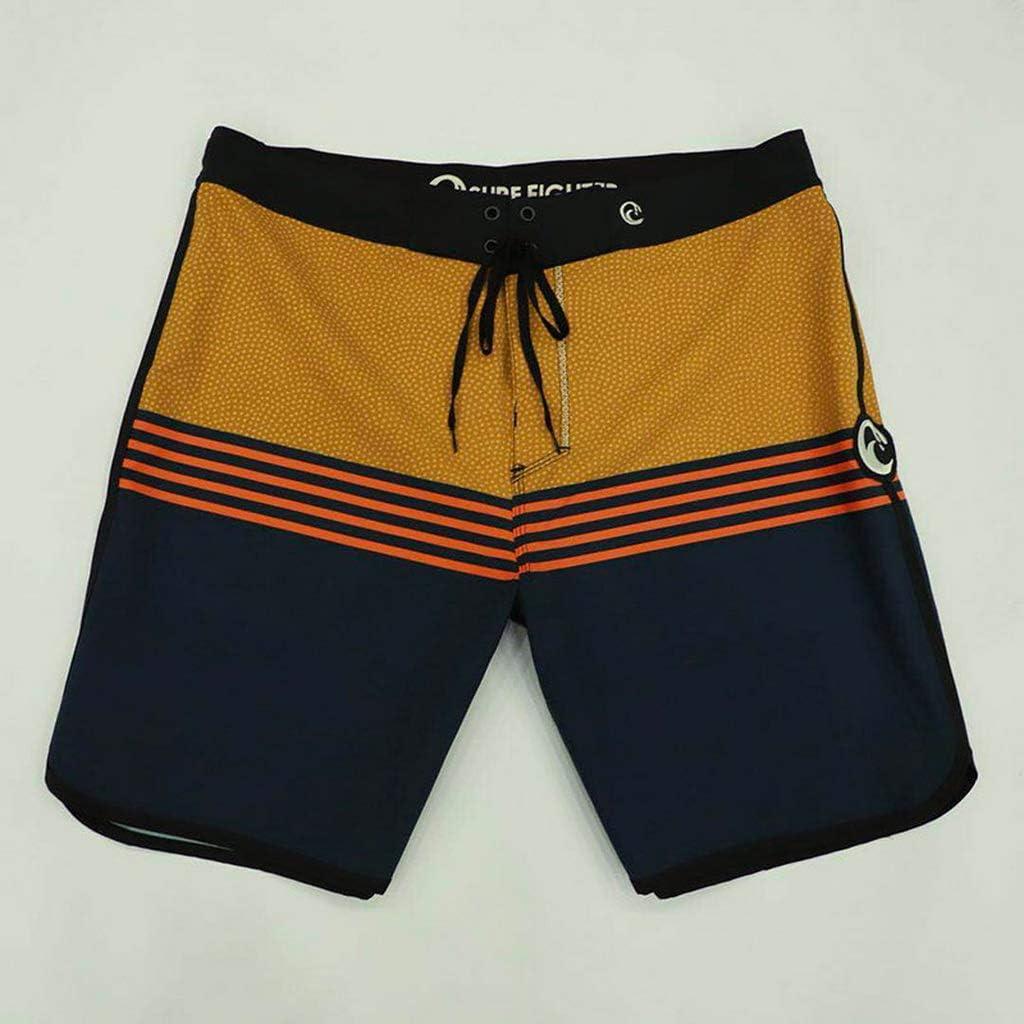 maxsoul Waterproof Board Shorts Mens Bermudas Spandex Elastane Beach Shorts Fashion Boardshorts Mens Beazh XL,as Photo