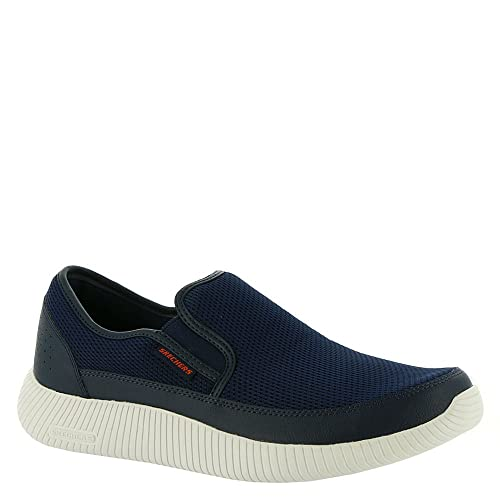 2a37afe0d9870 Skechers Mens Depth Charge Flish Navy 13 D - Medium: Buy Online at Low  Prices in India - Amazon.in