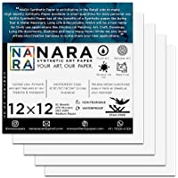 """NARA SYNTHETIC PAPER for Alcohol Ink PAINTING-12mil(12""""x12"""")"""