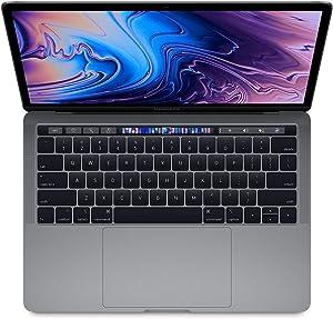 "Apple 13.3"" MacBook Pro w/Touch Bar (Mid 2019), Intel Core i5-8279U 2.4GHz, 256GB PCI-E SSD, 8GB DDR3, 802.11ac, Space Gray (Renewed)"