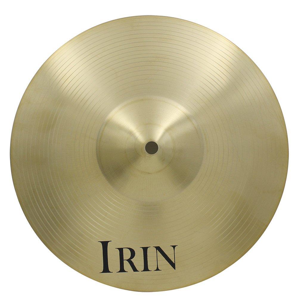 IRIN 12 inch Drum Cymbal Brass Alloy Crash Ride Hi-Hat Cymbal for Drum Set (12 inch) MUS270881