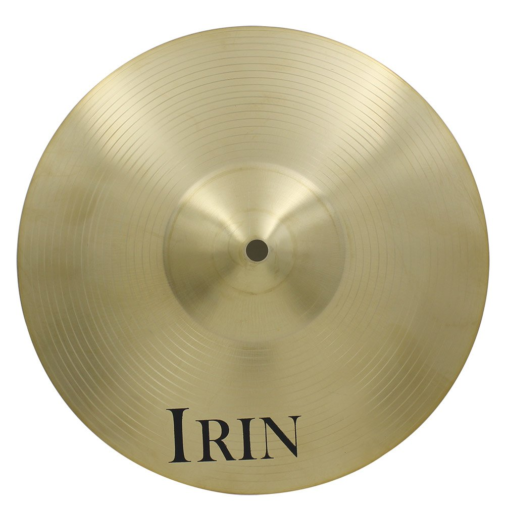 ammoon 18'' Brass Alloy Crash Ride Hi-Hat Cymbal for Drum Set by ammoon