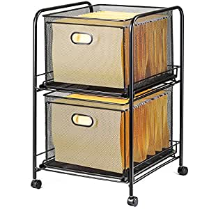 file cart with wheels halter steel mesh 2 tier rolling file cart 15382