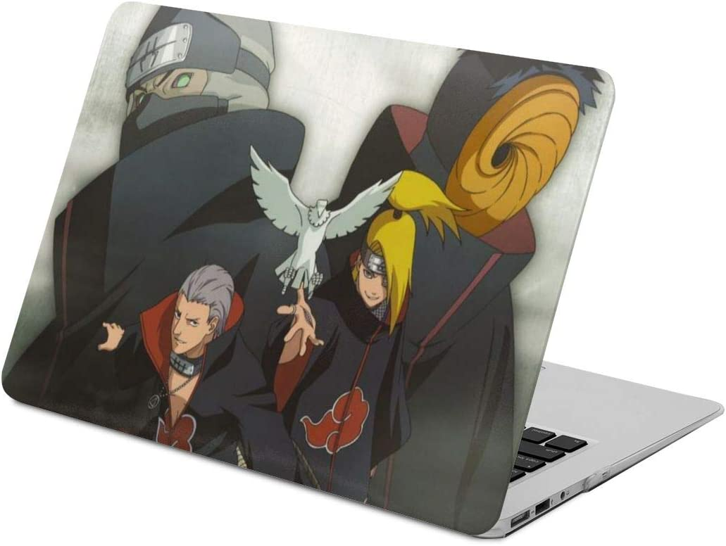 Naruto Akatsuki Laptop Case MacBook Non-Slip Durable Waterproof Plastic Hard Shell Case,for MacBook New Air 13//Air 13//15 Inch//Touch 13//15inch PVC Laptop Protective Cover New air13