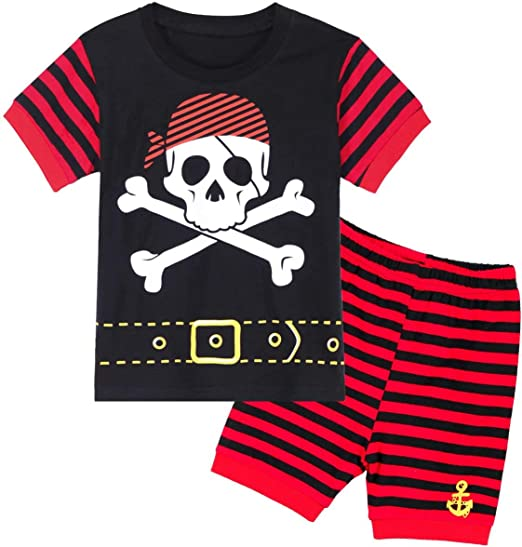 MOMBEBE COSLAND Boys Pajamas Set