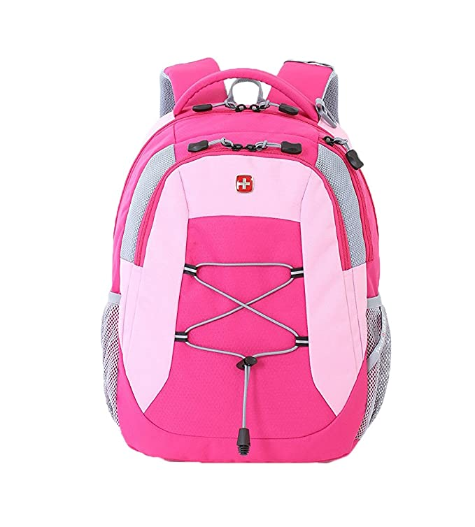 Amazon.com: Swiss Gear SA5933 Laptop Computer Tablet Notebook Backpack - for School, Travel, Carry On Luggage, Women, Men, Student, Professional Use - Pink, ...