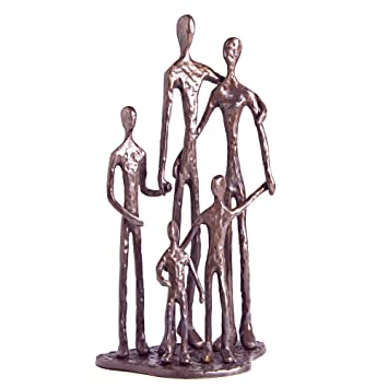 Danya B  Family of Five Bronze Sculpture. Amazon com  Danya B  Family of Five Bronze Sculpture  Home   Kitchen
