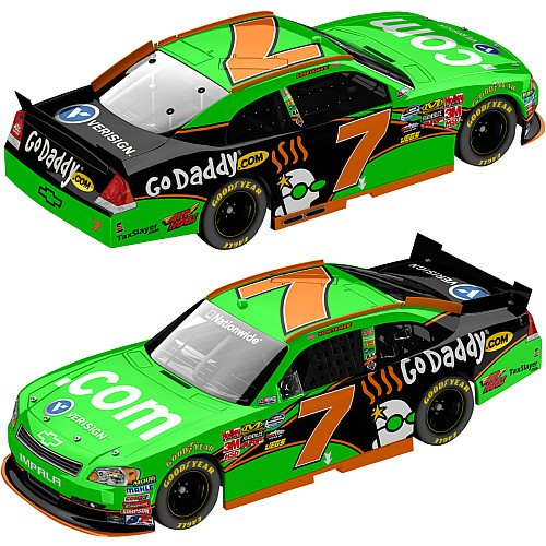 Action Racing Collectibles Kasey Kahne 11 Godaddy Com Verisign  7 Nationwide Impala  1 24