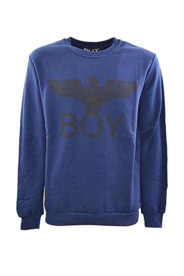 rivenditore online 7ab68 4817d BOY London Felpa GIROCOLLO Uomo Rosa: Amazon.co.uk: Clothing