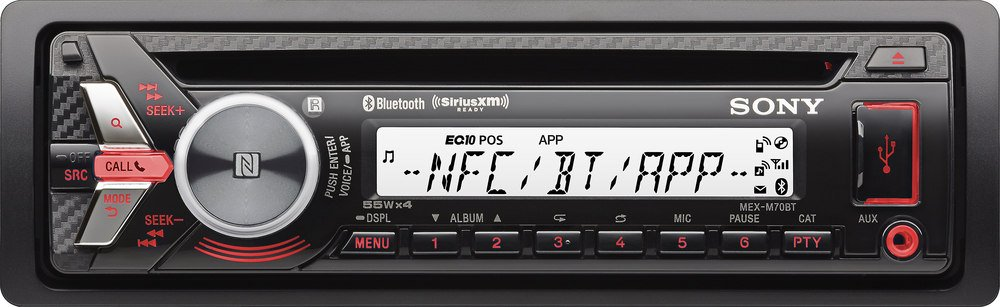 Sony MEXM70BT Bluetooth CD & USB Marine Stereo Receiver by Sony