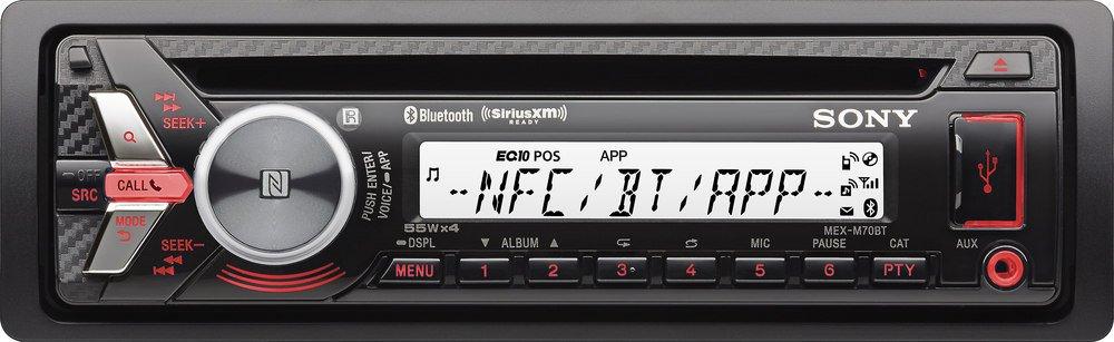 Sony MEXM70BT Bluetooth CD & USB Marine Stereo Receiver