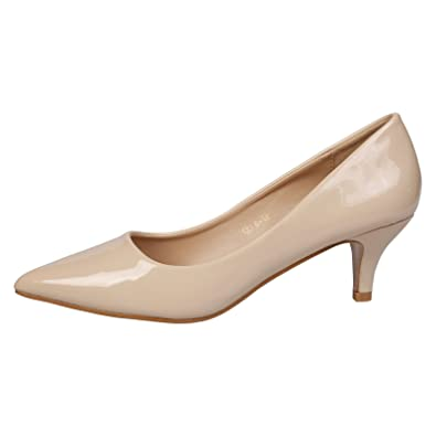Xianshu Women Point Toe Shallow Mouth Shoes Wedge Heel Single Shoes Solid Color Pumps(White-42 EU) LQ4J9O2oy