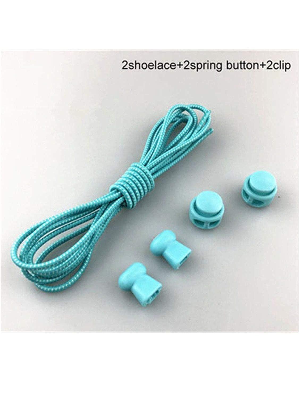 Amazon.com: Shoelaces Unisex Elastic Shoe Laces For Men Women All Sneakers Fit Strap Sport Shoes Reflective Buckle lazy lock laces white army green 100cm: ...