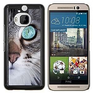 """Be-Star Único Patrón Plástico Duro Fundas Cover Cubre Hard Case Cover Para HTC One M9+ / M9 Plus (Not M9) ( Gatito lindo nariz ojo Bigotes Furry"""" )"""