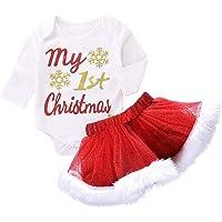 BBSMLIN Ropa de Conjunto Navidad Bebe Niña my