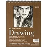 Strathmore STR-400-3 24 Sheet No.80 Drawing Pad, 8 by 10""