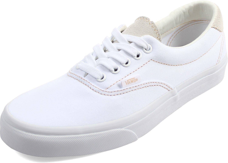 42984e224bbe3 Vans Unisex-Adult Era 59 Shoes, Size: 6.5 D(M) US Mens/8 B(M) US Womens,  Color (C&S) True White/Sand