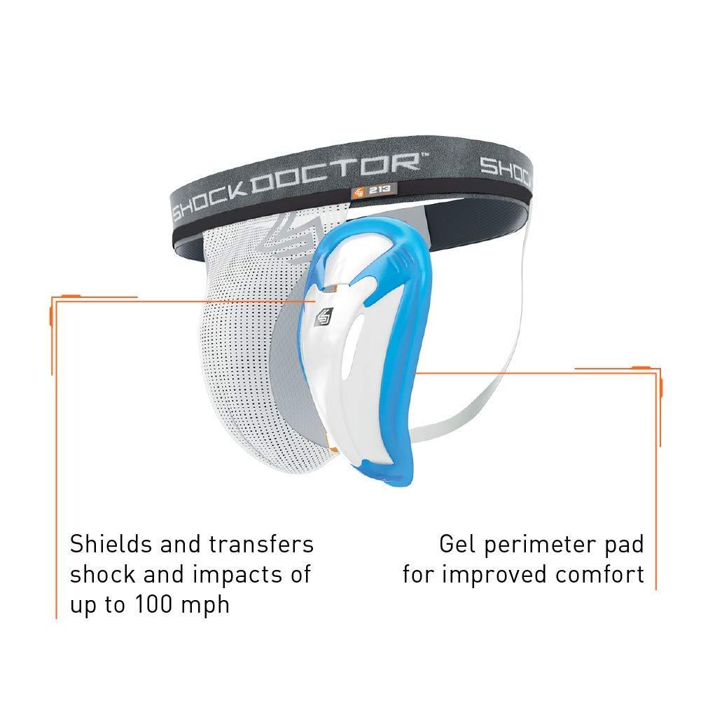 Shock Doctor Tiefschutz Core Supporter Bioflex Cup copa L//Adulto Material de entrenamiento para hockey sobre hielo