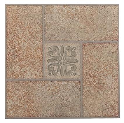 Achim Imports Ftvma42145 Tivoli Beige Terracotta Motif Center 12x12