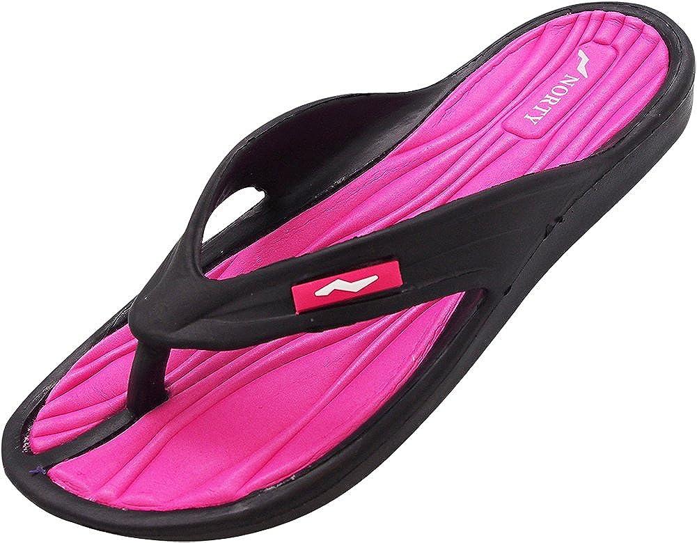 Sunville New Womens Fuchsia Casual//Beach Flip Flops Size 11
