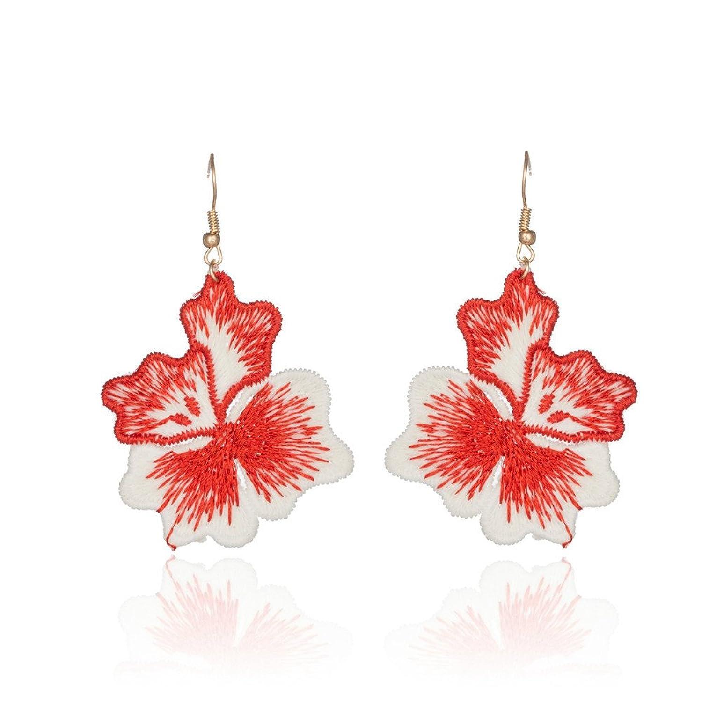 7be22a5538bc Caliente de la venta Dana Carrie Phillips Elegantes aretes de flores uñas  oído fino