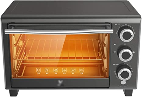 Toaster Oven Stbd 16 Litre Small Kitchen Oven Including Grill Net Baking Tray Tray Holder 60 Minutes Time Measurement Even Heating Top And Bottom Pipes Grey Amazon De Kuche Haushalt