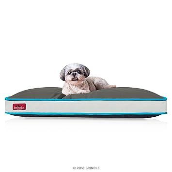 Brindle Cama Impermeable Favorita - Trabaja a máquina Cama Lavable Acolchada Para Perros y Gatos Smoke Blue: Amazon.es: Productos para mascotas