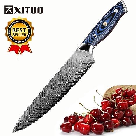 Amazon.com: Cuchillos de cocina de la mejor calidad, diseño ...