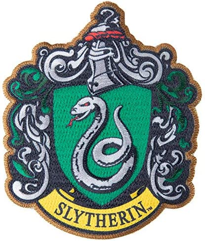 """Harry Potter Slytherin Kids Baby Embroidered Iron Sew On Appliques 3.3/""""X3.9/"""""""