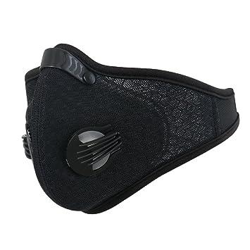 XINTOWN N95 PM2.5 Mascarilla de carbón activo, negro