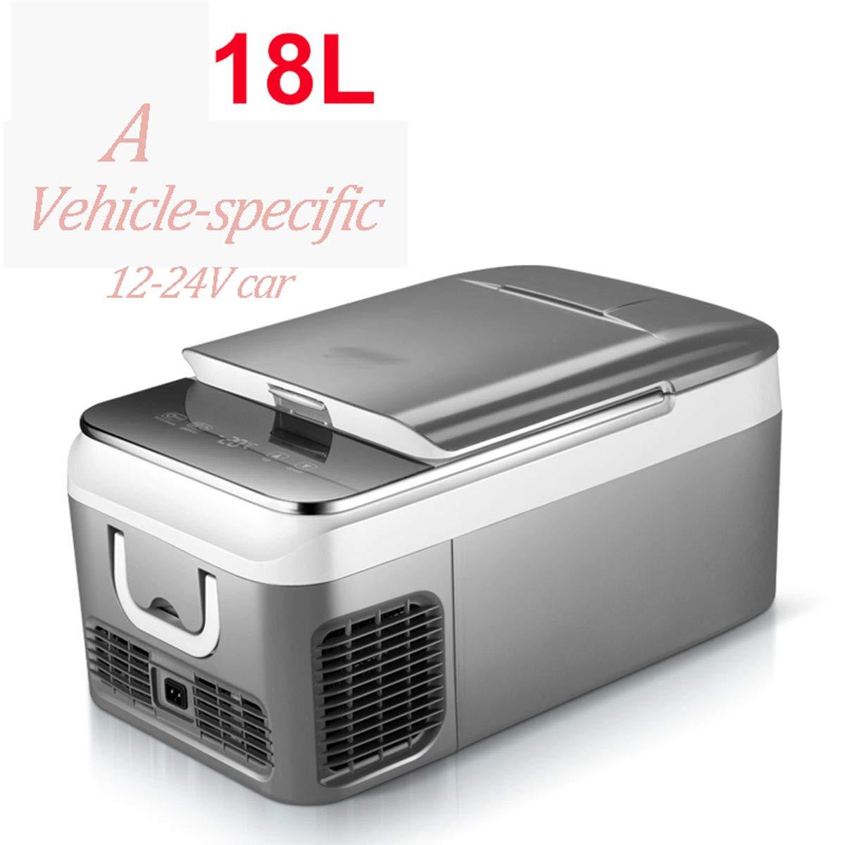 ADEMI compresor Nevera Coche, Portátil Mini (18L,26L) Capacidad ...