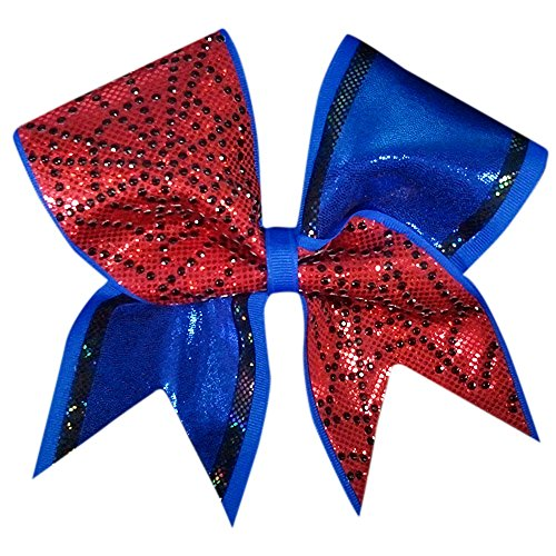 - Chosen Bows Charmed Spiderman Cheer Bow