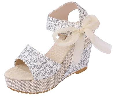 Compensé Chaussures Sandales Talon Bevalsa Compensées Femme b76ygvYf