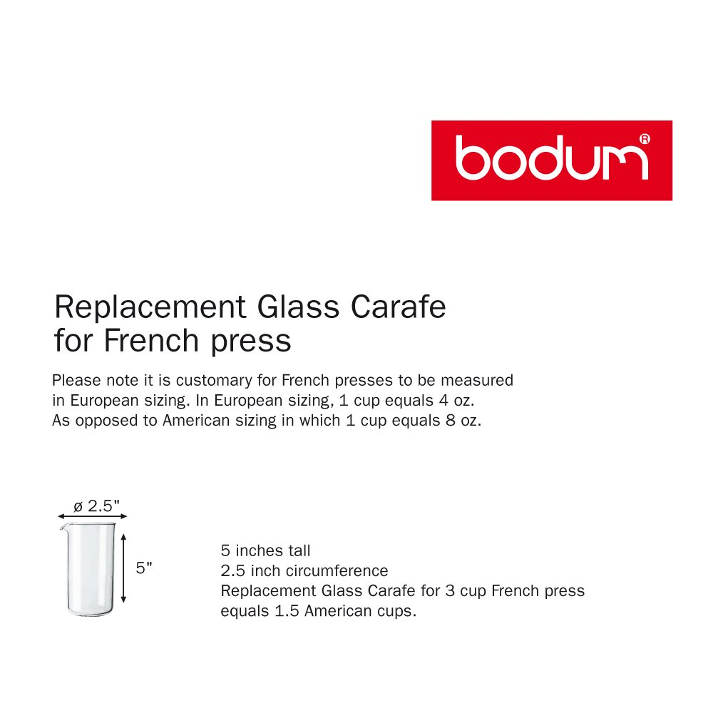 Bodum french press replacement glass - Amazon Com Bodum 12 Ounce Coffee Press Replacement Beaker Glass French Presses Kitchen Dining
