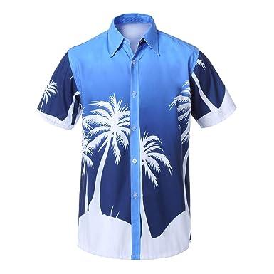 Camisetas Hombre Manga Corta Verano Camisa Casuales Deportivas ...