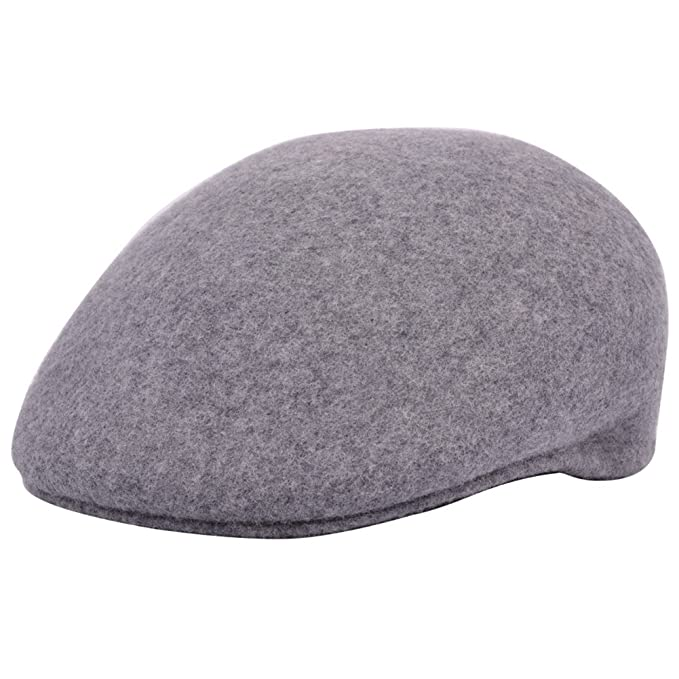 55535cbb Wool Felt Ascot Cap with Cotton Lining: Amazon.co.uk: Clothing