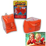 CHILDRENS KIDS INFLATABLE SAFETY SWIMMING ARMBANDS CHILDS BABY BABIES 2-6 YEARS by Guaranteed4Less