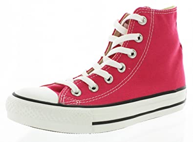 Converse Unisex Chuck Taylor? All Star? Seasonal Hi Cosmos Pink Sneaker  Mens 9,